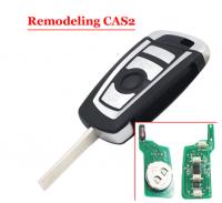 3pcs 3 button 315/434/868MHZ folding flip remote key fob for BMW 3 5 6 series E93 E60 Z4 X5 X3 CAS2 HU92 BLADE