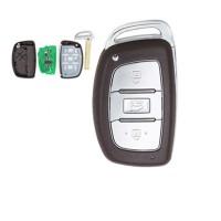 3PCS Hyundai IX35 keyless Smart 3 button remote key with 7945AC1500 chip (PCF7945/7953 chip ) 434mhz for IX35 2013 year
