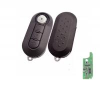 3 Button Car Remote Key For Fiat 500 Punto Ducato Stilo Panda Grande 2010-2017 SIP22 blade 433Mhz ID46 PCF7946 Chip