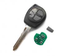 2PCS Remote Control Car Key 315/433MHz ID46 Chip For Suzuki Swift SX4 ALTO Vitara Ignis JIMNY Splash HU87 Uncut Blade