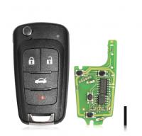 Xhorse VVDI2 XKBU01EN Wireless Remote Key Fob for Buick 4 Buttons Remotes Key