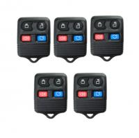 10pcs XKFO02EN Xhorse Universal Wire 4B Remote Key Separate Square Ford Style