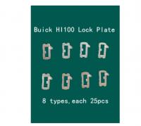 200pcs/lot HU100 Car Lock Reed Locking Plate For Chevrolet/Mai Rui bao/Cruze/Camaro Buick New Regal LaCrosse GL8