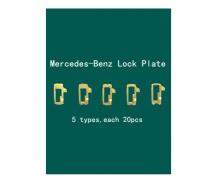 100pcs/lot Car Lock Reed Plate For Mercedes Benz For Honda Half Locking Plate Auto Lock Repair Accesories Locksmith Tool
