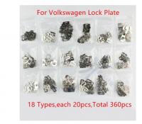 360PCS/LOT Car Lock Plate For HU16 V9/V10 Volkswagen Golf Lock Reed Auto Lock Repair Accessories Kits
