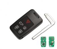 2PCS  Remote Car Key 434Mhz ID46 PCF7953 Chip For Volvo KYDZ S60 S60L S80 V40 V60 XC60 XC70 5 Button Smart Key