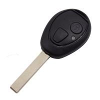 3pcs 2 button remote key shell for BMW mini