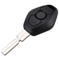 3pcs BMW 3 button remote key blank  with 4 track (high quality) HU58 Blade