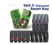 5pcs Xhorse VVDI XM Smart Key Surport 4D 8A Series for Toyota  Universal Regeneral Remote Circuit Board VVDI Key Tool Plus