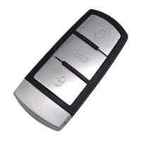 3PCS 3 button remote key shell for VW Passat B6 3C B7 Magotan CC