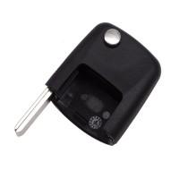 5PCS VW Passat flip remote key  head (the connect face is square)