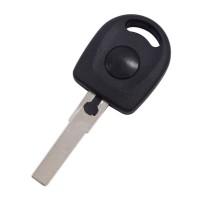5PCS VW passat transponder key shell with led light