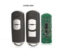2/3 Buttons Smart Key 433Mhz ID49 for MAZDA CX-3 Axela CX-5 Atenza Model