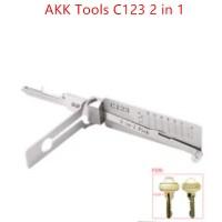 AKK Tools C123 2 in 1 Pick for Schlage Door Locks C123