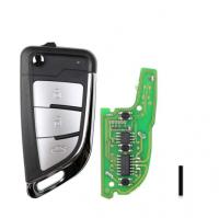 10PCS Xhorse XKKF21EN VVDI KNIFE Style (Flip-3 Button) Universal Remote Key