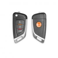 10pcs XKKF02EN Xhorse VVDI Universal Wired Flip Remote Key 3 Buttons Knife Type