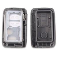 5pcs 2 Buttons Smart Remote Control Car Key Shell
