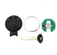 3pcs 3 Button Smart Car Key 868MHz ID46 Chip CAS System For BMW Mini Cooper S Smart Intelligent Key
