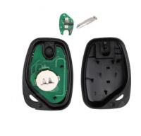 3pcs 2 button remote key pcf7946 pcf7947 433mhz for Renault:Kangoo II, Master II,Traffic II  Opel:Vivaro,Movano