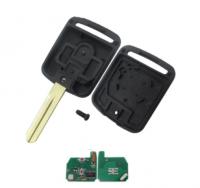 3pcs Auto Car key 2 button remote key 433mhz ID46 pcf7946 chip For Nissan Elgrand X-TRAIL Qashqai Navara Micra Note NV200