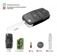 10pcs Xhorse XKB501EN Wire Remote Key 3 Button Board For B5 Type Work for VVDI2/VVDI Key Tool/MIni Key Tool/Key Tool Max
