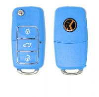 10pcs Xhorse VVDI Universal Wired Flip Remote Key 3Buttons B5 Type XKB502、503、505、506EN