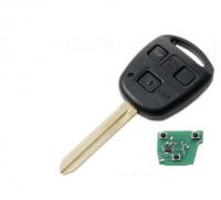 3pcs 3 button remote control 434MHz 315mhz 4d67 chip Remote Key For Toyota Avensis Corolla Yaris Rav4 car key