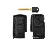 5pcs 2+1 3 Buttons For Toyota Prius 2004-2009 Corolla Chr Yaris Rav4 Auris Car Key Case Shell Fob Replacement Smart Key