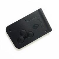 50pcs auto key card 3 Button smart card remote key 434Mhz 7926ATT pcf7947 chip car accessory for Renault Megane 2 key
