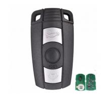 3pcs Car Remote Key 315/434/868MHz pcf7945 pcf7952 chip auto accessories for BMW E90 CAS3 1 3 5 6 series X1 X5 X6 Z4 car key