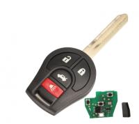 3/4 Button 315MHZ Remote Car Key For Nissan Keyless Entry 46 Chip Fob Transmitter CWTWB1U751 1788D-WB1U751 H0561-C993A