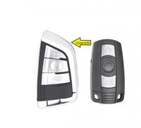 3pcs Keyless-Go Modify Smart Remote Key 3 Button 315MHz PCF7953/pcf7945 chip for BMW CAS3 3/5 Series X5