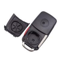 5PCS VW Touareg 3+1 button remote key blank