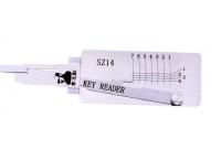 Lishi SZ14 Key Reader is designed for Suzuki [Profile: SU14/SZ14R