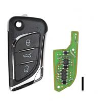 10pcs XHORSE XKLKS0EN LEI.KSS Style(Chrome-plating) Remote Key for VVDI Key Tool