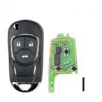 10pcs XKBU03EN (English Version) Universal 3 Button Remote Key Fob for VVDI Key Tool VVDI2