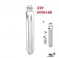 20pcs HYN14R Flip Blank key Blade 33# HYN14RFH for Hyundai Accent HYN14RFH Key Blade for KD keydiy xhorse VVDI remotes