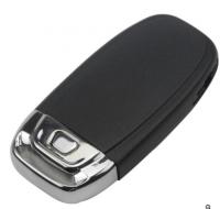 3pcs Audi A4L,Q5 3 button Remote key Blank with emergency Key blade