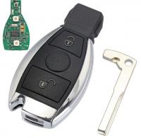 3pcs 2 Buttons Remote Car Key For Mercedes Benz year 2000+ NEC&BGA Control 433MHz /315mhz