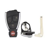 3PCS 3+1 Button Modified Car Key Shell