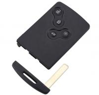5PCS  Renault 4 button remote key blank for megane3 clio4
