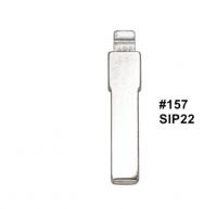 20pcs  Remote Key Blade KD VVDI Uncut Flip Blank SIP22 #157 For Fiat Punto Ducato Stilo Panda Idea Replacement part