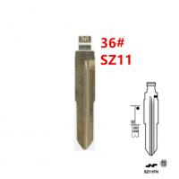 20pcs 36# SZ11 SZ11MH SZ11FH for Suzuki Key Blade for KD keydiy xhorse VVDI remotes universal