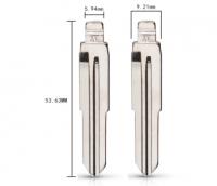 20pcs  21# TOY41 Metal Uncut Blank Flip Remote Key Blade For Toyota Corona for keydiy KD xhorse VVDI JMD