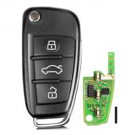 XHORSE XKA600EN VVDI2 Universal Remote Key 3 Buttons for A6L Q7 Type