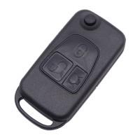 3pcs BENZ 3 Button flip key blank HU58 HU92 BLADE