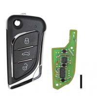 XKLKS0EN XHORSE LEI.KSS Style(Chrome-plating) Remote Key for VVDI Key Tool