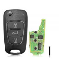 XKHY02EN Xhorse VVDI Universal Wired Flip Remote 3 Buttons Hyundai Type