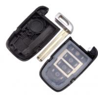5pcs hyundai 4 button remote key blank