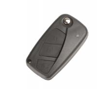 5pcs  Fob 3 button Remote Folding Car Cover Key Shell Case For Fiat Punto Ducato Stilo Panda Idea Doblo Bravo Keyless